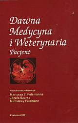 """okładka książki """"Dawna Medycyna i Weterynaria. Pacjent."""""""