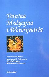 """okładka książki """"Dawna Medycyna i Weterynaria."""""""